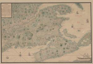 Carte De L'Acadie